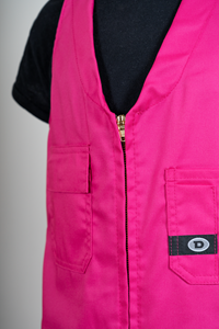 Deane Childs Zip Roughall - fuschia