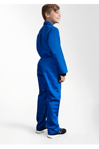 Deane Childs Zip Overall - royal