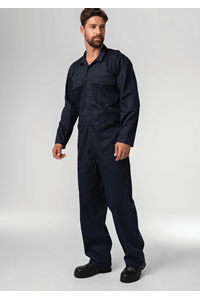 Classic Deane Dome Overall  - navy