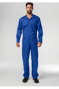 Classic Deane Dome Overall - royal
