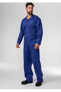 Classic Deane Dome Overall - mid blue