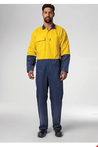 Flex Day Dome Overall - navy/yellow