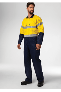 Flex Day/Night Dome Overall - navy/yellow
