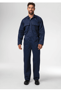 Flex Zip Overall - navy